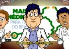 Charges e montagens reúnem críticas e apoio ao programa Mais Médicos - Reprodução/charges.com.br