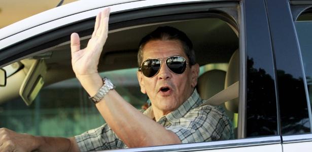 20.fev.2014 - O ex-deputado e presidente nacional do PTB Roberto Jeferson