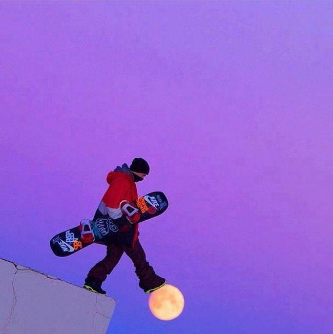 E o homem pisou na lua