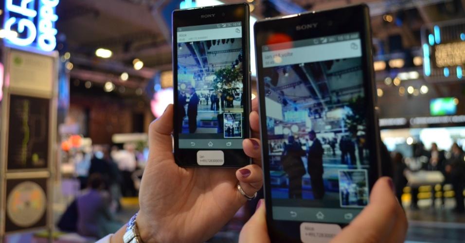 25.fev.2014 - Para aproveitar ao máximo a internet ultraveloz oferecida pelas redes 4G, operadoras estrangeiras oferecem recursos de videochamadas com qualidade HD (alta definição) - tanto para voz como para dados. A tecnologia é chamada Volte (Voz sobre LTE) e não requer a instalação de aplicativos nos celulares: o mecanismo para otimizar o 4G fica em um circuito na rede da operadora. Segundo a Ericsson, atualmente cerca de 8 milhões de usuários na Coreia do Sul tem acesso a esse recurso