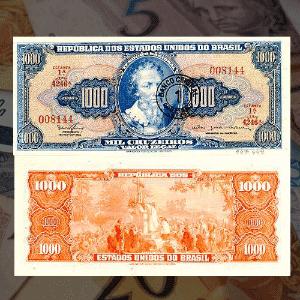 Personalidades nas notas de dinheiro brasileiras - Arte/UOL/Banco Central do Brasil