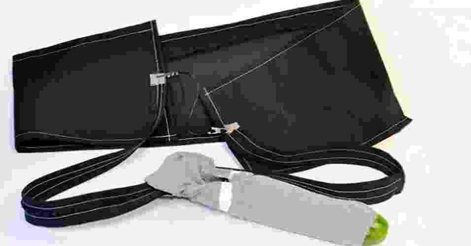 """Reprodução de vídeo mostra o """"The Electric Eel"""", ou """"A Enguia Elétrica"""", um preservativo com impulsos elétricos que aumenta o prazer - Reprodução/http://www.indiegogo.com/projects/digital-condom"""