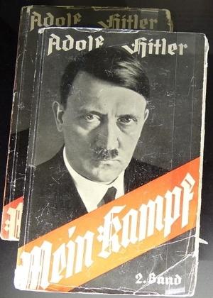 """Versão em alemão de """"Minha Luta"""" (""""Mein Kampf""""), de Adolf Hitler - Wikicommons"""