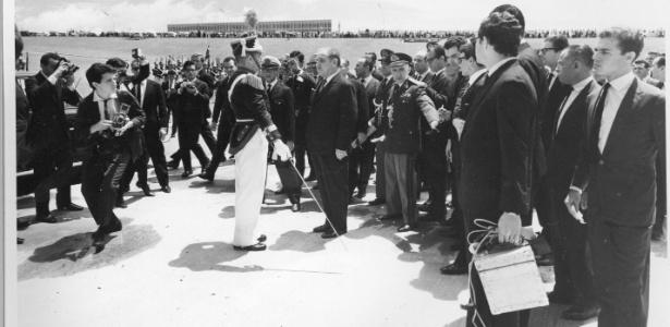 Posse do presidente Costa e Silva em 15 de março de 1967