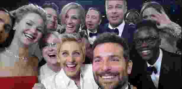 Selfie do Oscar - Reprodução/Twitter - Reprodução/Twitter