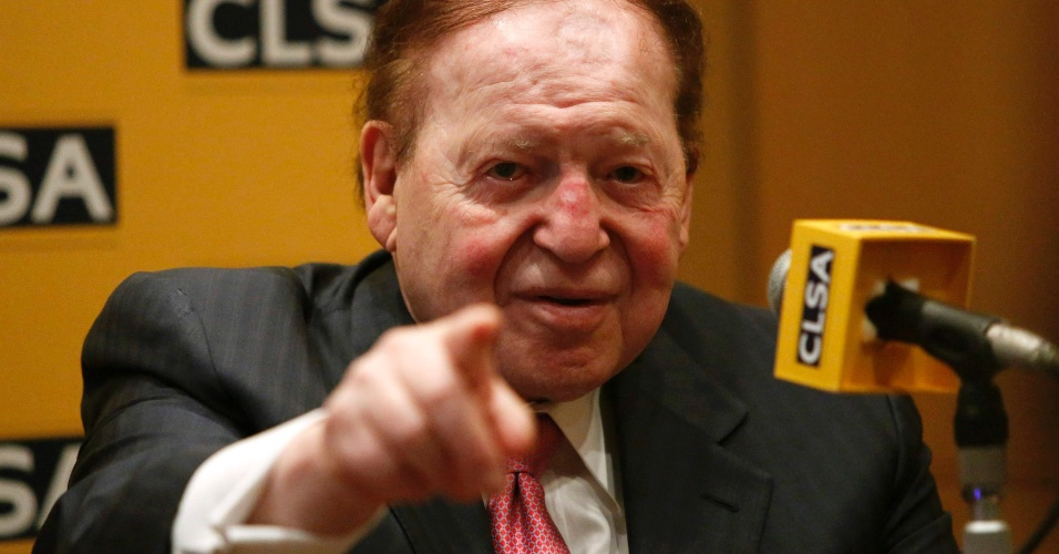 Sheldon Adelson, americano proprietário da Las Vegas Sand Corporation, é o  8º colocado na b4d561d022