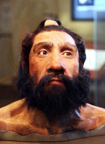 4.mar.2014- NEANDERTAIS PODEM TER TIDO LÍNGUAS - Uma nova pesquisa da Universidade de Nova Inglaterra indica que os neandertais podem ter tido línguas, não muito diferentes das que temos hoje. A descoberta foi feita ao analisar o osso osso hioide - que fica na parte anterior do pescoço, abaixo do maxilar inferior - de um neandertal de 60 mil anos descoberto em Israel em 1989 que era mais parecido com o de humanos do que de bonobos e chimpanzés. Isto sugere que eles usavam a fala para se comunicar
