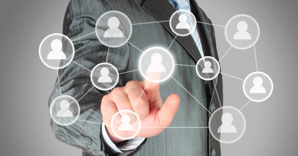 Rede de contatos, contatos, executivo, acionar contatos, networking