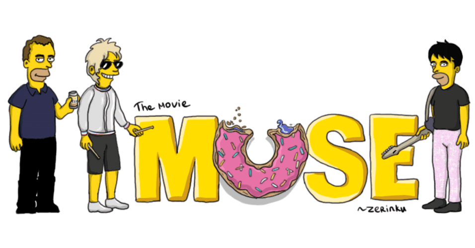 Banda Muse versão 'Os Simpsons'