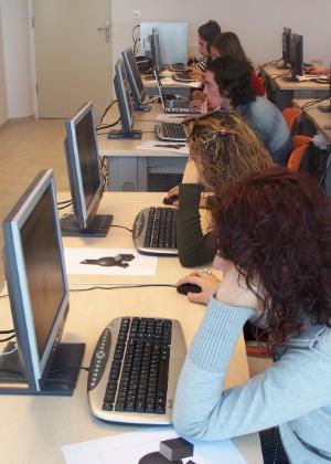computador, aula, estudo, alunos, educação