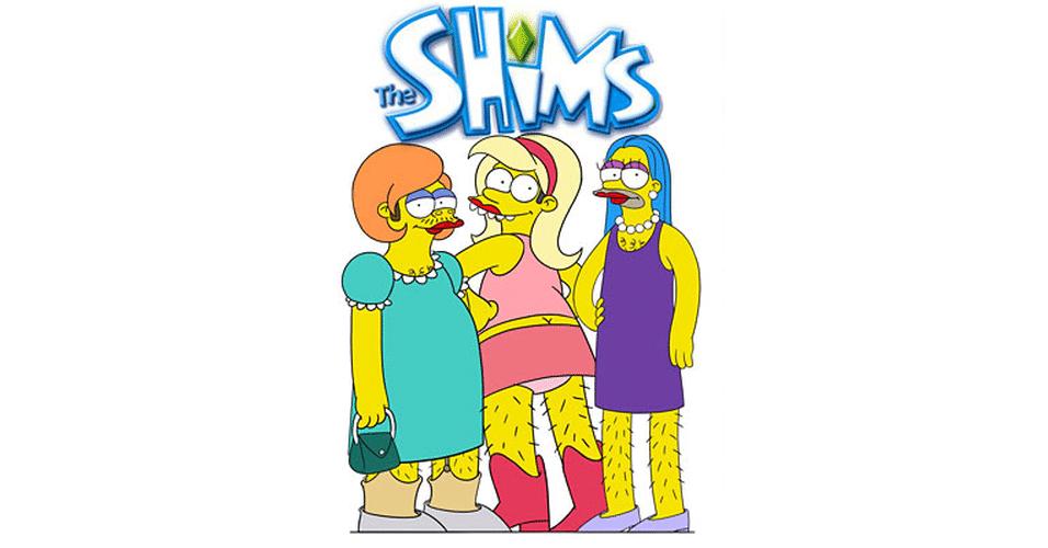 Jogo 'The Sims' versão 'Os Simpsons'