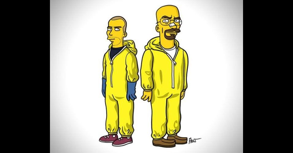 Série 'Breaking Bad' versão 'Os Simpsons'