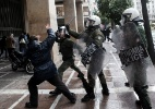 Gregos protestam contra crise econômica - Angelos Tzortzinis/AFP