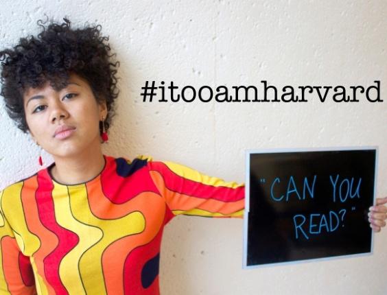 """Grupo de estudantes negros lança campanha """"Eu também sou Harvard"""" - I, Too, Am Harvard"""