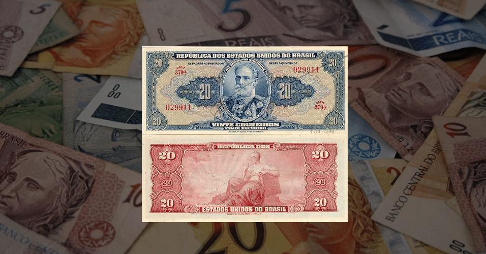 Personalidades nas notas de dinheiro brasileiras