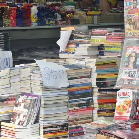 Maiores perdas foram no setor de livros, jornais, revistas e papelaria (-15,3%) - Paola Perroti/UOL