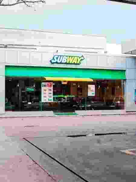 Franquia da rede Subway - Divulgação