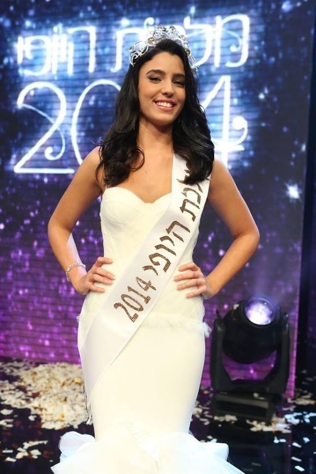13.mar.2014 - Mor Maman, 18, foi coroada Miss Israel 2014, em Haifa, no dia 4 de março. Maman, que tem 1,75m, é estudante de computação gráfica e está esperando para entrar na Força Aérea Israelense. Ela vai representar seu país no Miss Mundo, cujas finais acontecem em novembro em Manila (Filipinas) ou Londres