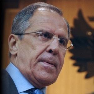 Sergei Lavrov, ministro russo das Relações Exteriores - Arte UOL