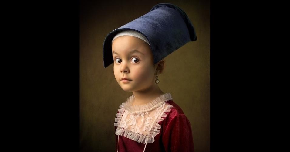 14.mar.2014 - O renomado pintor holandês Vermeer produziu apenas 34 pinturas em sua vida. Uma de suas obras-primas é 'Moça com brinco de pérola', que faz parte da coleção da galeria Mauritshuis em Haia, na Holanda