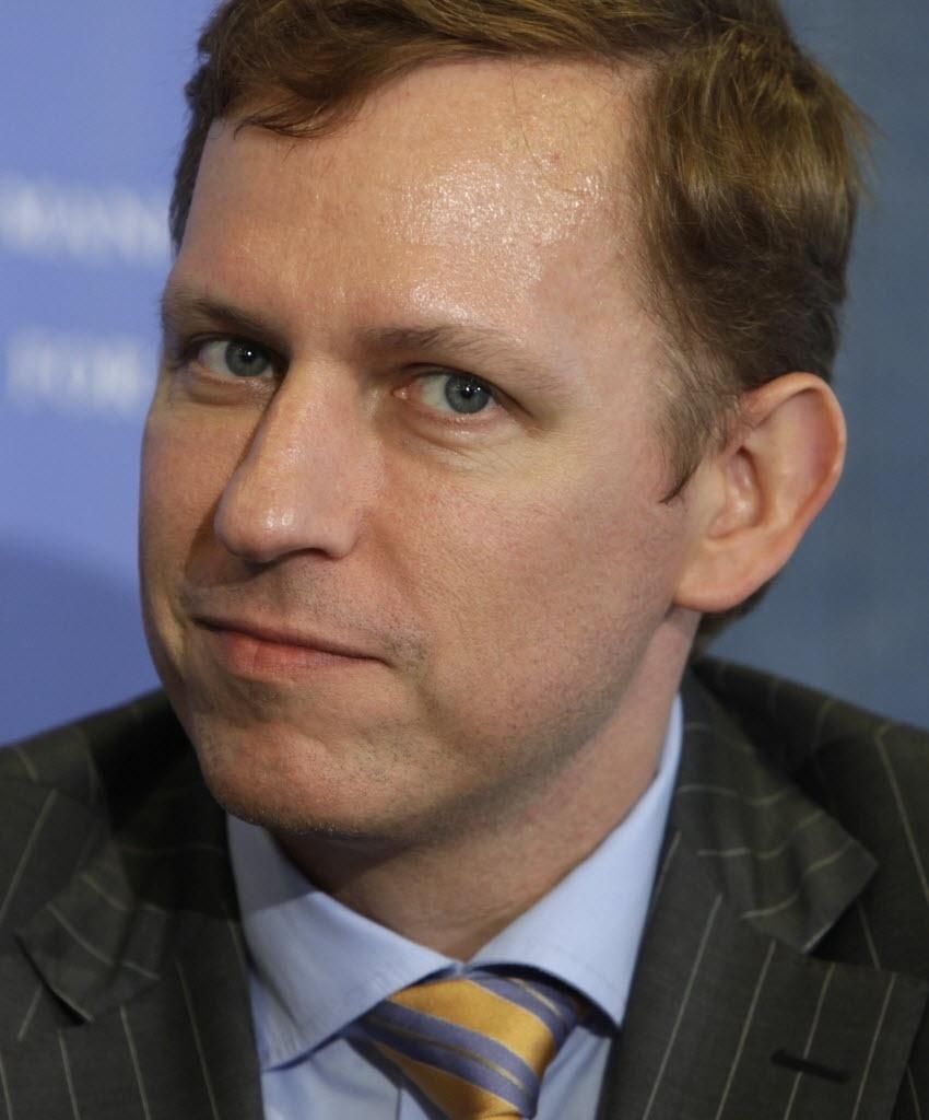 O cofundador do PayPal, empresa que gerencia pagamentos online, Peter  Thiel, tem uma 3d1084f468
