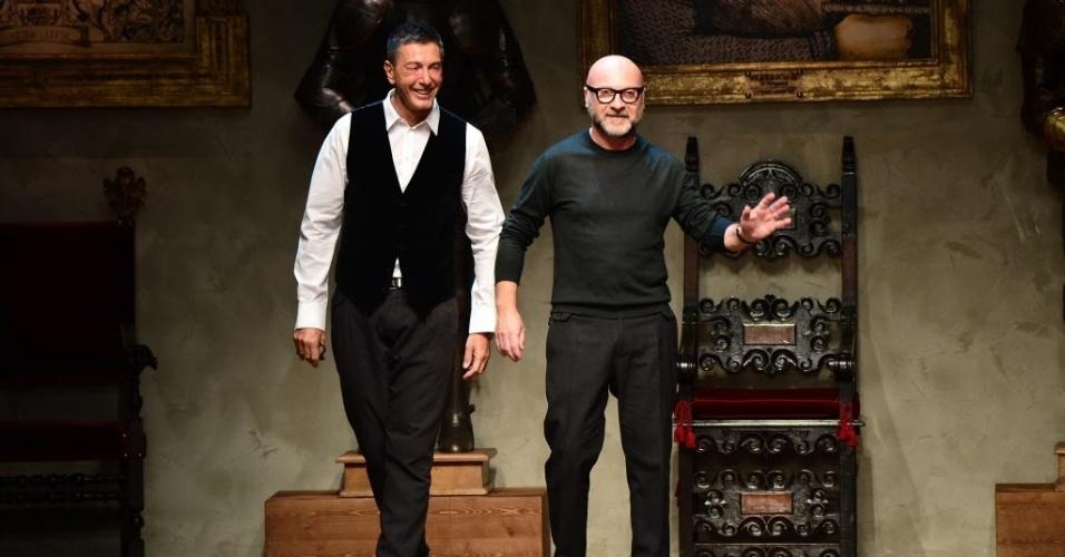 Os estilistas italianos Stefano Gabbana e Domenico Dolce também integram a  lista LGBT da Forbes, 4ba8bcef9d