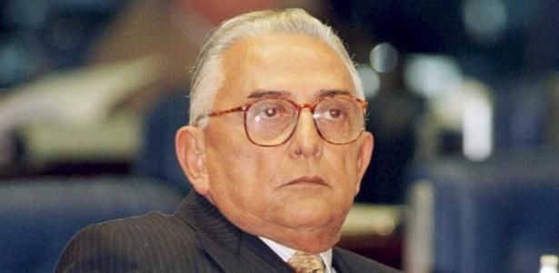 Francelino Pereira tinha 96 anos - Sérgio Lima/ Folhapress
