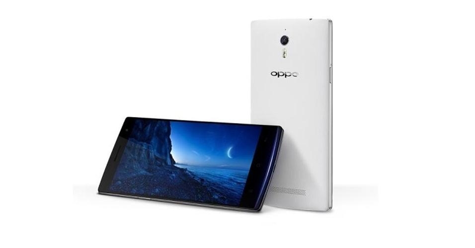"""A fabricante chinesa Oppa apresentou o smartphone Find 7. O aparelho tem processador quad-core, tela de 5,5 polegadas, 3 GB de RAM,  tecnologia 4G e uma bateria de 3.000 mAH. O diferencial do aparelho é seu conjunto de câmeras: 5 megapixels (frontal) e 13 megapixels com lente Sony (traseira). O telefone móvel vem com a função """"Super Zoom"""", que, através de um software, permite criar imagens com resolução de 50 megapixels. Smartphone ainda não está à venda e deve chegar a alguns varejos em até maio"""