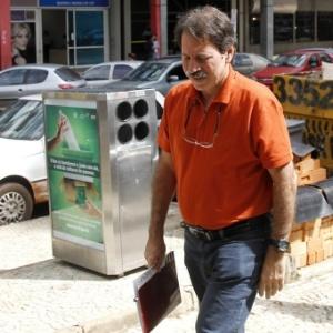 Ex-tesoureiro do PT Delúbio Soares chega a CUT para trabalhar - Beto Barata/Folhapress