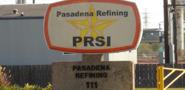 Refinaria de Pasadena, no Texas (EUA), comprada pela Petrobras em negócio suspeito - Divulgação/Petrobras