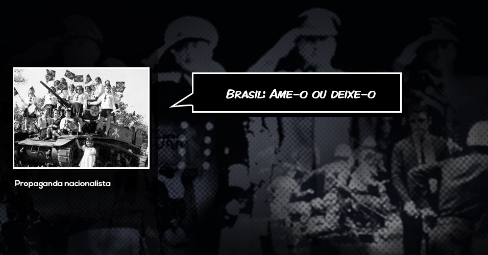 Brasil ame-o ou deixe-o