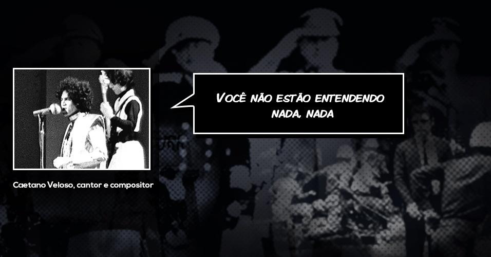 Caetano Veloso frase