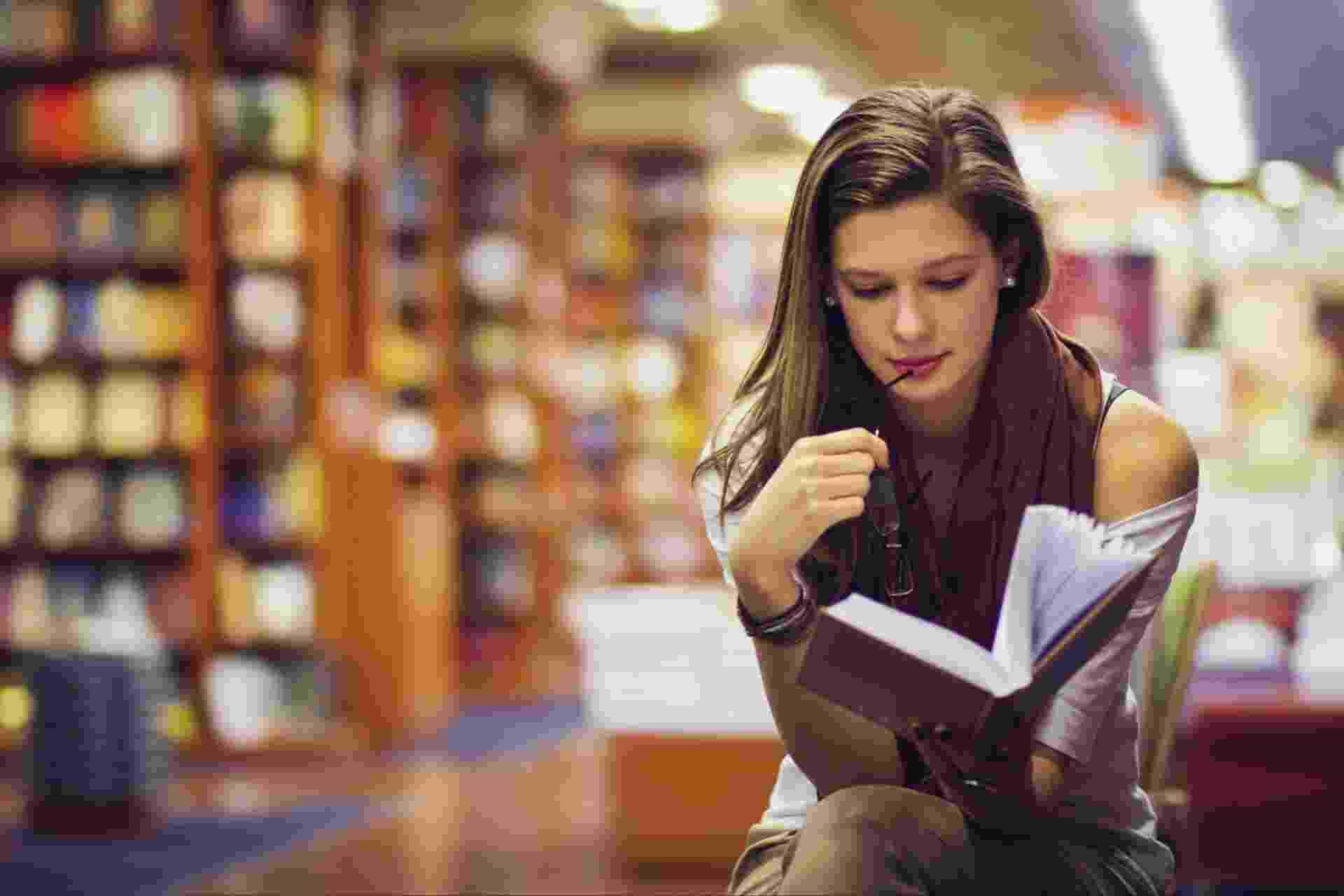 Leitura, biblioteca, livro - Getty Images