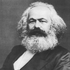 O filósofo alemão Karl Marx - Wikimedia Commons
