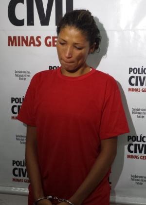 Luciene Ramos Lima, 24, foi detida no último sábado (29), no bairro Marimbá, em Betim, região metropolitana de Belo Horizonte - Rayder Bragon/UOL
