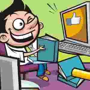Criança não deve fazer a lição com a TV ou o computador ligado (VERDADE) - Stefan/UOL