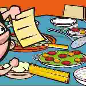 Mesa de jantar não é lugar para criança fazer a lição de casa (MITO) - Stefan/UOL