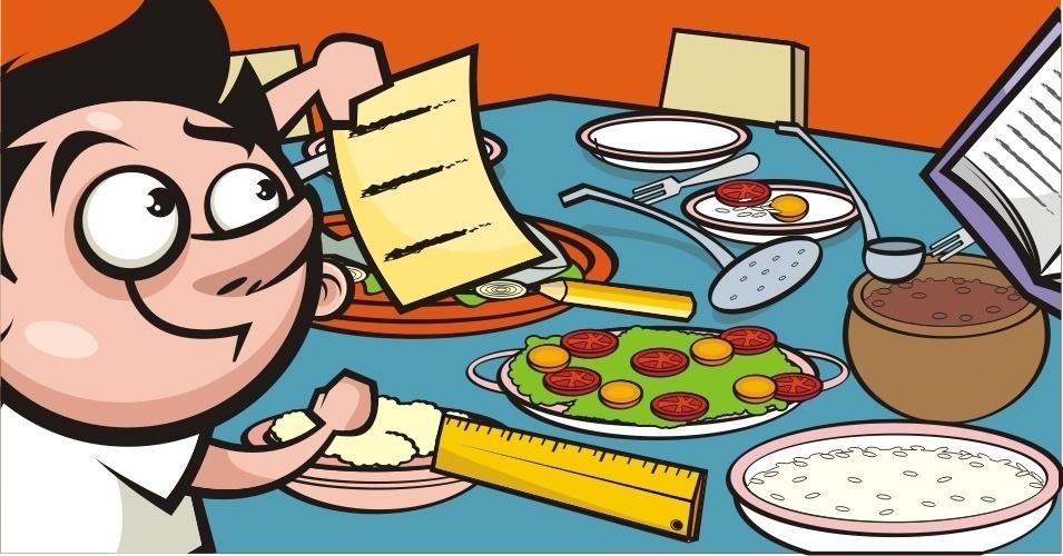 Mesa de jantar não é lugar para criança fazer a lição de casa (MITO)