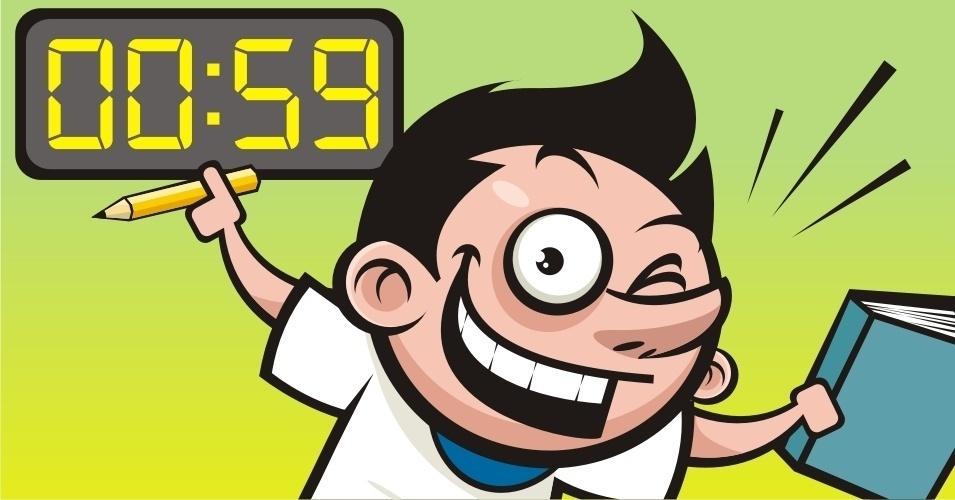 O ideal é que o aluno demore cerca de uma hora para resolver a lição (verdade)