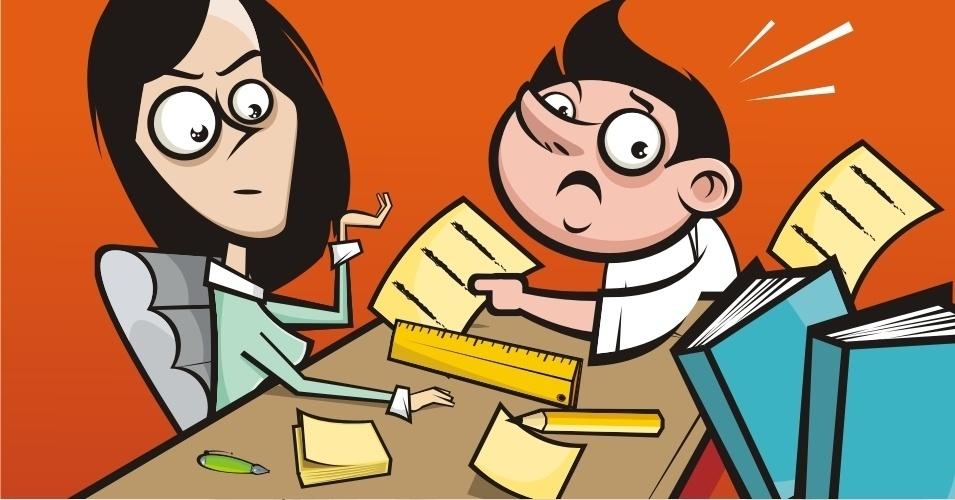 O responsável deve estar ao lado da criança do início ao fim da lição (MITO)