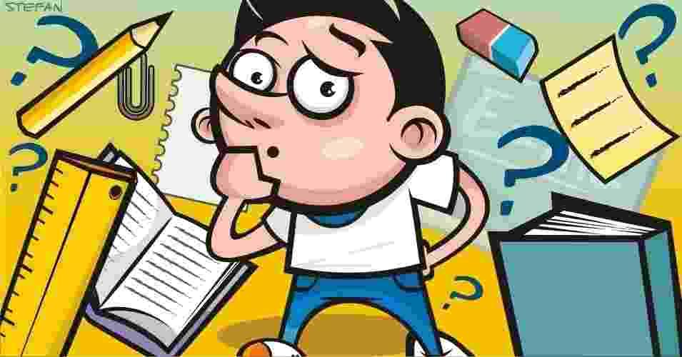Veja mitos e verdades sobre lição de casa - Stefan/UOL