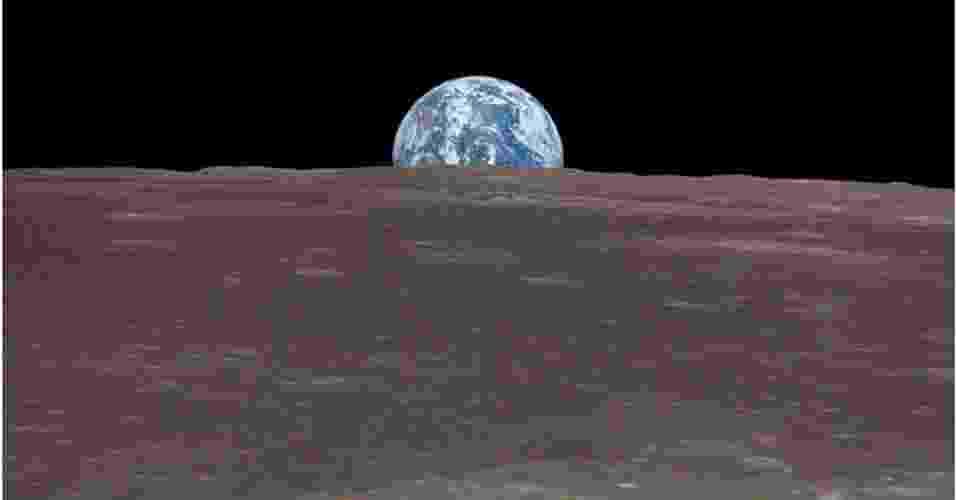 2.abr.2014- Estudo publicado na revista Nature determina por meio de um relógio geológico a idade da Lua. Nosso satélite teria se formado cerca de 95 milhões de anos após a criação do Sistema Solar, mais de 70 milhões de anos depois do que se calculava anteriormente - Nasa/Nature