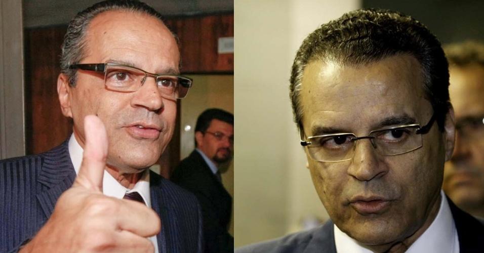 3.abr.2014 - O deputado Henrique Eduardo Alves (PMDB - RN), faz parte do grupo de políticos que já recorreu ao implante de cabelo para dar mais volume aos fios