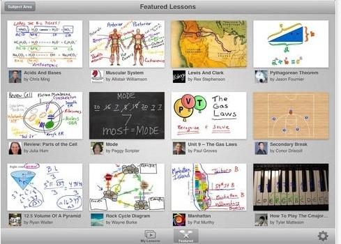 educreations, aplicativo para o professor