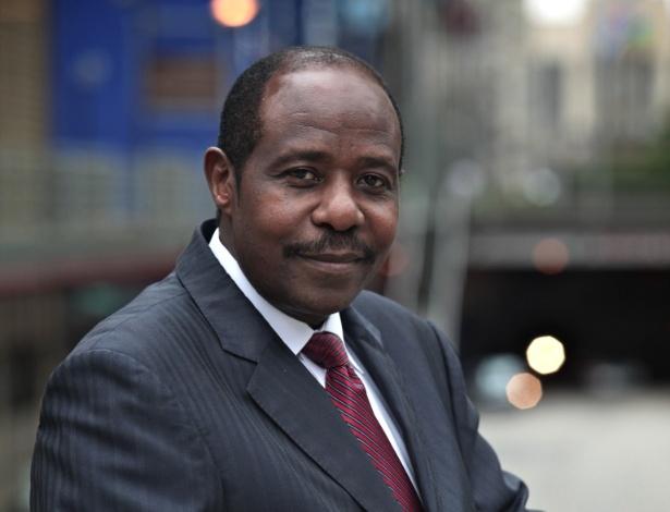 """Paul Rusesabagina, cuja história inspirou o filme """"Hotel Ruanda"""" - Fundação Hotel Ruanda Rusesabagina/Divulgação"""