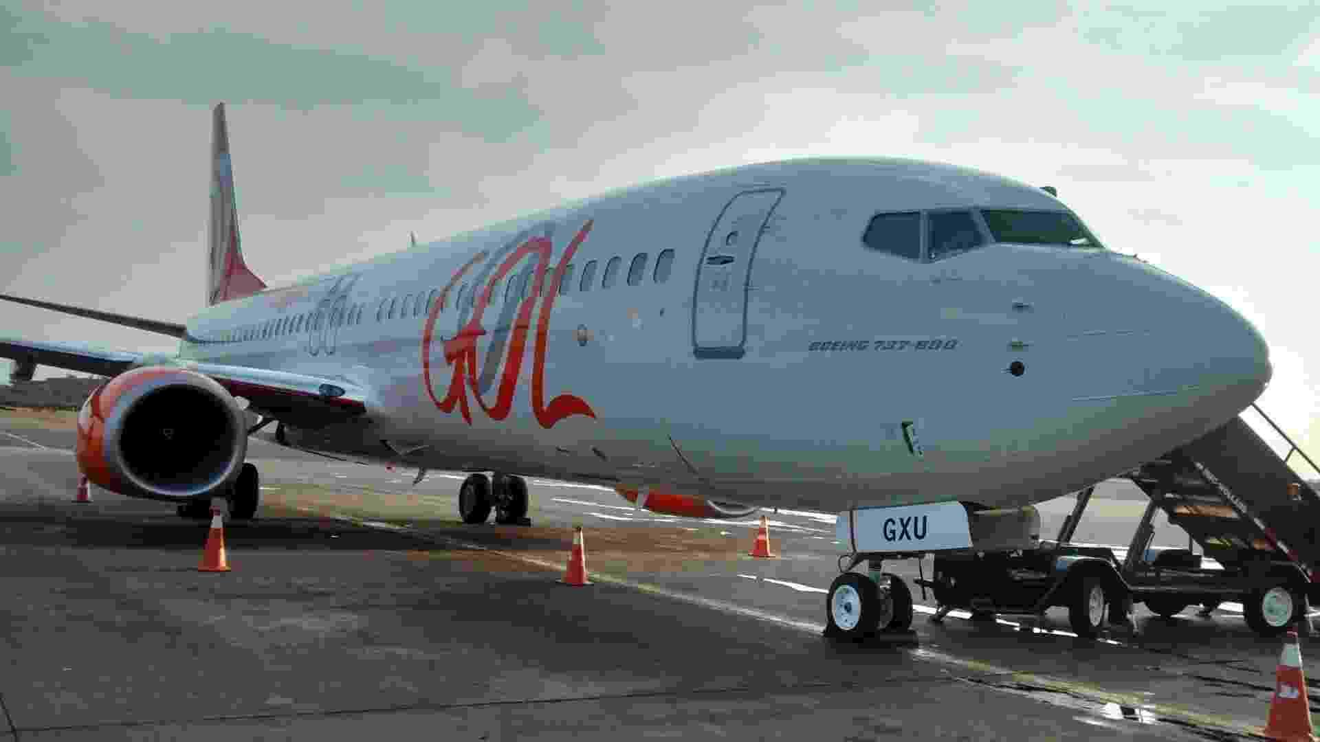 Boeing 737-800 da Gol tem freio especial para pista pequena - Divulgação/Gol