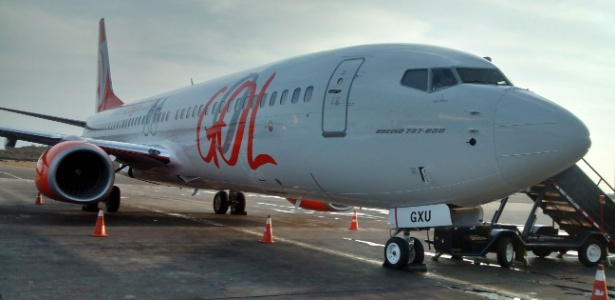 Boeing 737-800 da Gol: aviões usados podem ir para parceira Delta Airlines