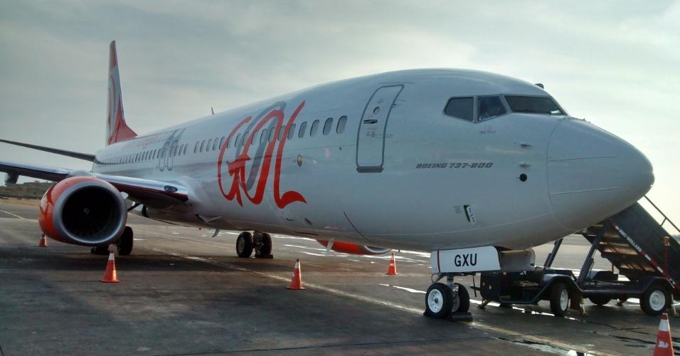 Boeing 737-800 da Gol tem freio especial para pista pequena
