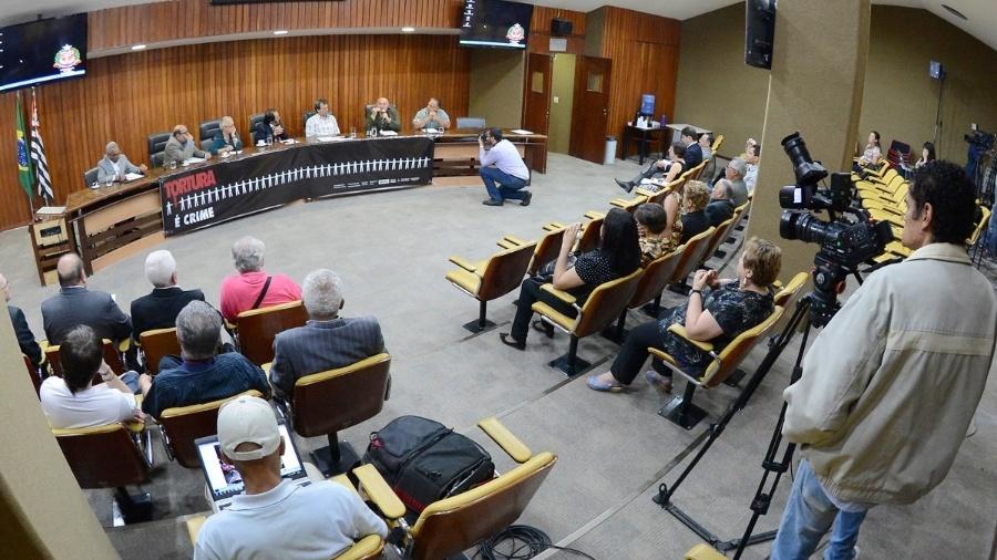 Audiência pública no auditório Teotonio Vilela, na Assembleia Legislativa de São Paulo  - Roberto Navarro/ ALESP