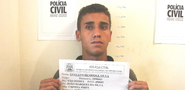 Gustavo Henrique Silva, o Gustavinho: 20 prisões por furto em apenas um ano na cidade de Três Pontas, em Minas Gerais - Polícia Civil Três Pontas
